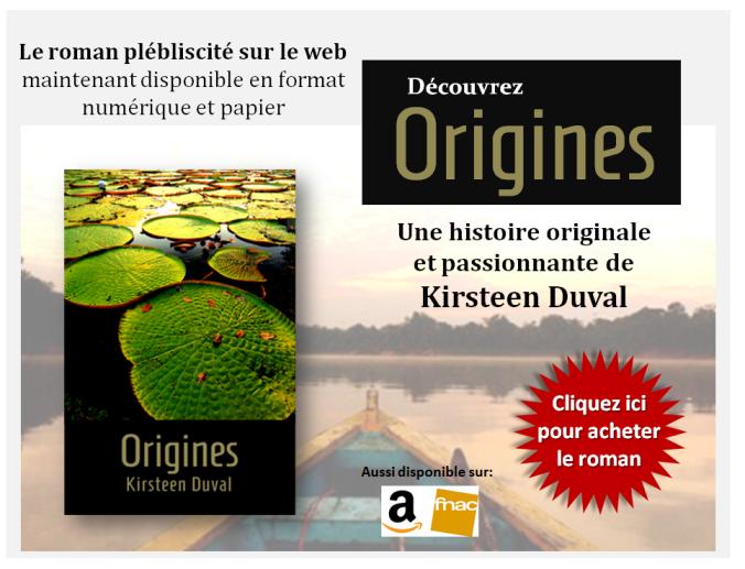 Le roman plébliscité sur le web maintenant disponible en format numérique et papier